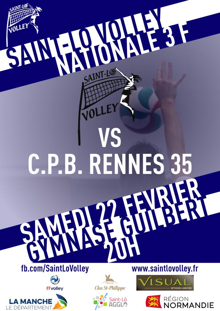 J14 : SLV / CPB Rennes 35